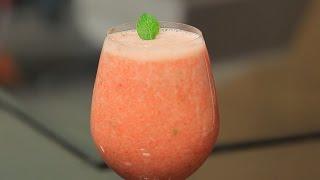 عصير فراولة بالليمون و النعناع | شريف الحطيبي