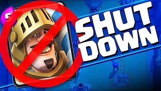 SHUT IT DOWN  ::  Clash Royale  ::  HIGH LEVEL PRINCE GAMEPLAY