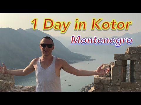 24 hours in Kotor - Montenegro 🇲🇪
