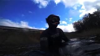 Подводная охота на Десногорском Водохранилище 10 03 20