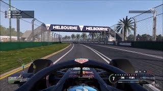 F1 2018 - Melbourne Grand Prix Circuit (Australian GP) - Gameplay (PC HD) [1080p60FPS]
