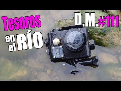 Buscando TESOROS en el RÍO encontramos ¡OTRA 'GOPRO'! river treasures - Detección Metálica ep. 111