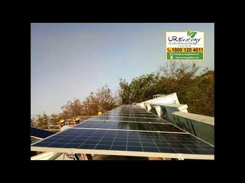 96.85 KW Commercial Solar Panel Project - U R Energy