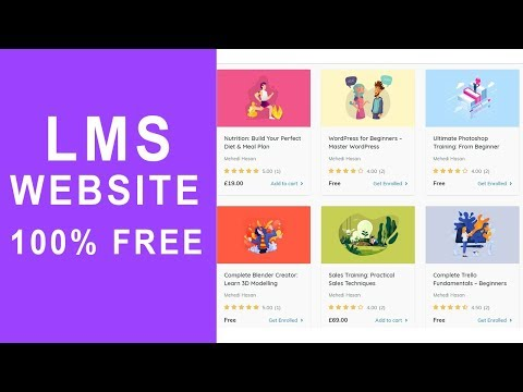 how-to-create-an-online-course-selling,-lms-site-like-udemy-in-wordpress-2020---100%-free