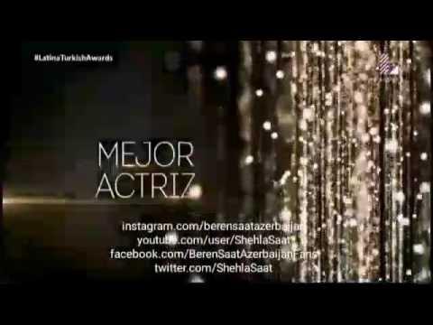 Beren Saat the best actress award from Peru