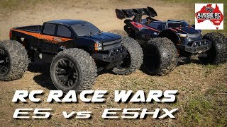 RC RACE WARS: Team Magic E5 vs E5 HX