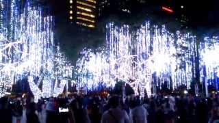 Ayala Triangle Light Show 2014