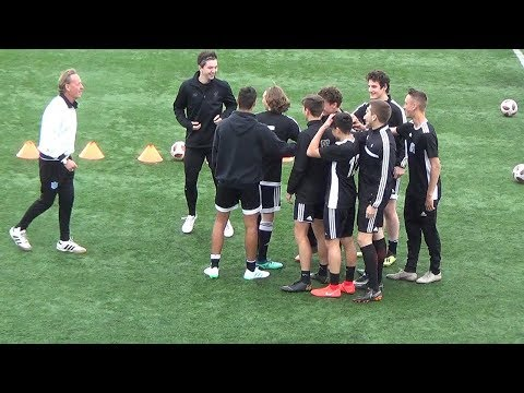 SoccerCoachTV.com - Who Are You? Team Building Exercise.