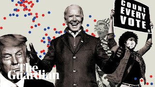 Joe Biden's path to victory: five days in five minutes