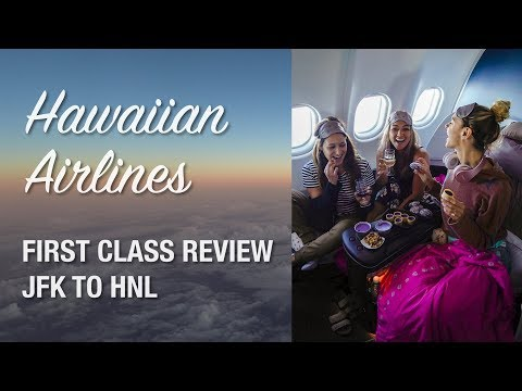 Flying Hawaiian Airlines First Class JFK to HNL!