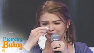 Magandang Buhay: An emotional Angelica Panganiban shares how much she loves her relatives