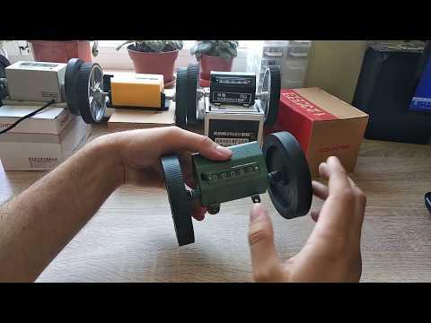 Счетчики измерители длины (Z96F, Z-96FM, JM316, DJ96S). Обзор, способы установки