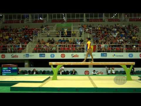 KARMAKAR Dipa (IND) - 2016 Olympic Test Event, Rio (BRA) - Qualifications Balance Beam