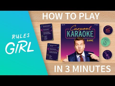 Carpool Karaoke Game | Board Game | BoardGameGeek