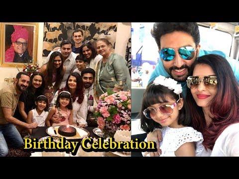 Aishwarya Rai Bachchan Celebrates 45 Birthday I Abhishek Bachchan