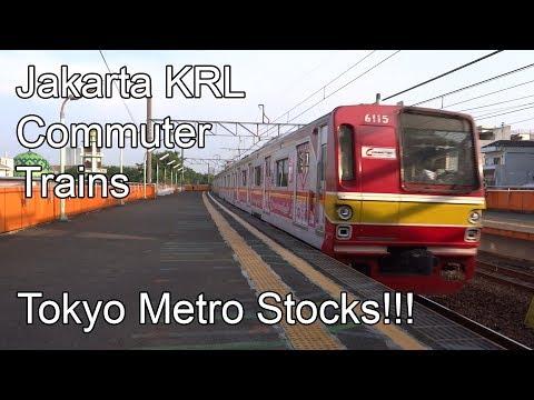 🇮🇩 Jakarta KRL Commuter Trains - 東京地下鉄車両 - Tokyo Metro Stocks (2018)