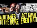 ALDI TAHER COVER TO THE BONE ?? RUSAK BANGET !! DAN AOT TAMAT ?? EREN MATI !!