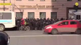 авария с велосипедистом из-за сотрудника ДПС на Тверской