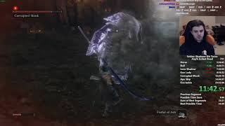 Sekiro Any% Speedrun in 23:45 (World Record)