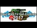 Tanki Online: Best Way To Get Crystals 2017!