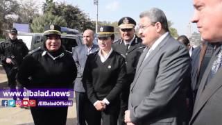مدير أمن الجيزة يتفقد «ميدان النهضة» ومحيط حديقة الحيوان..فيديو وصور