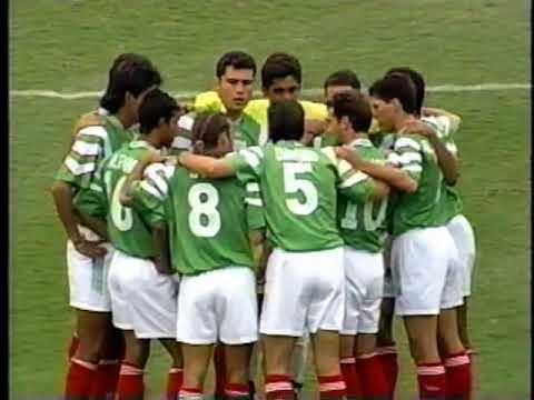 Classic Olympic Soccer game 1996 Nigeria v Mexico