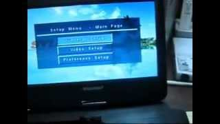 Changing Region Zone on a Portable DVD Player (Sylvania SDVD1030)
