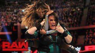 Sasha Banks, Bayley & Alicia Fox vs. Charlotte, Dana Brooke & Nia Jax: Raw, Nov. 7, 2016