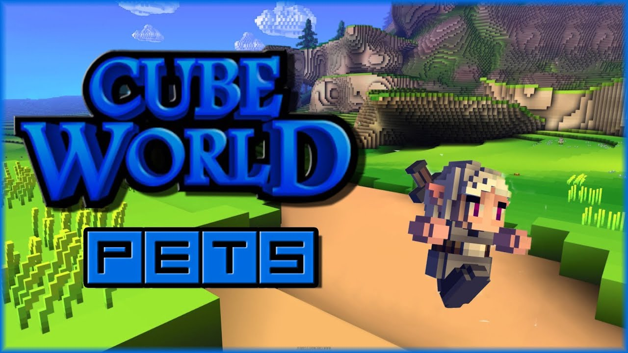 Cube World Gameplay - How To Get a Pet/Tame Pets (Pet Taming Tutorial)