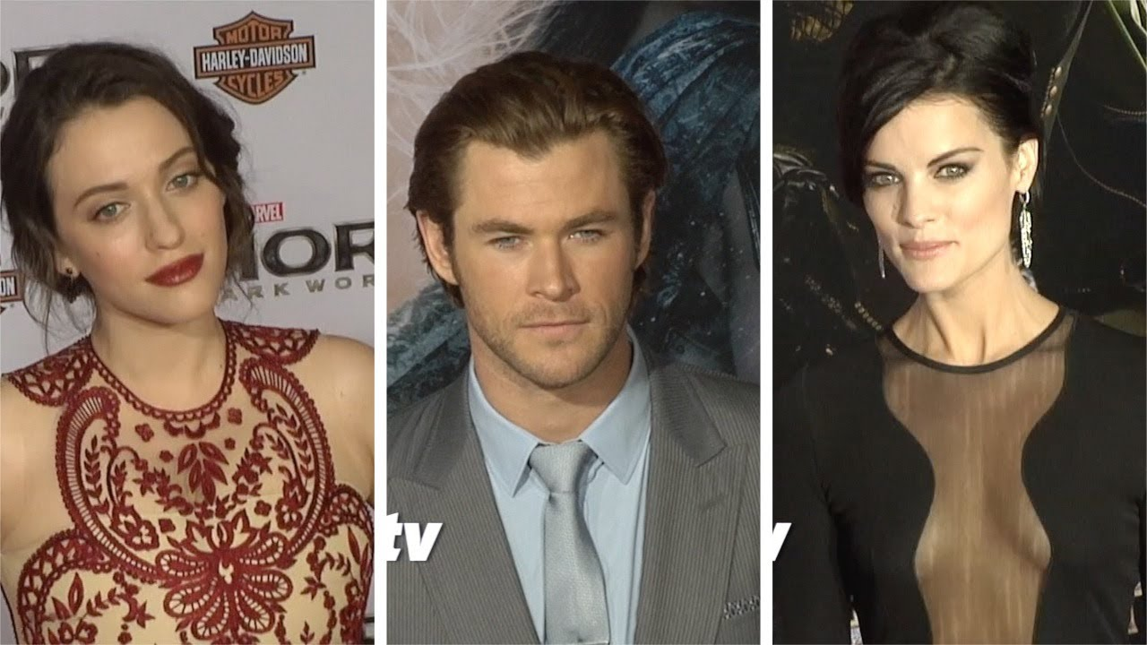"""Thor: The Dark World"" LA Premiere Jaimie Alexander, Tom ..."
