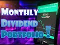 Robinhood APP - $100 High Dividend and Monthly Dividend Payment Portfolio!