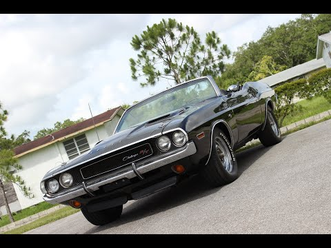 1970 Dodge Challenger R/T Tribute Convertible #556
