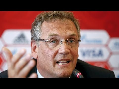 FIFA Secretary General Jerome Valcke is suspended