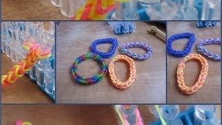 הדרכה איך להכין צמיד גומיות - Rainbow Loom