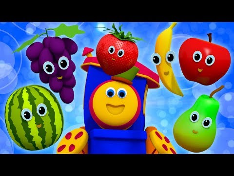 Fruits Song | Learning Street With Bob The Train | Nursery Rhymes For Toddlers by Kids Tv
