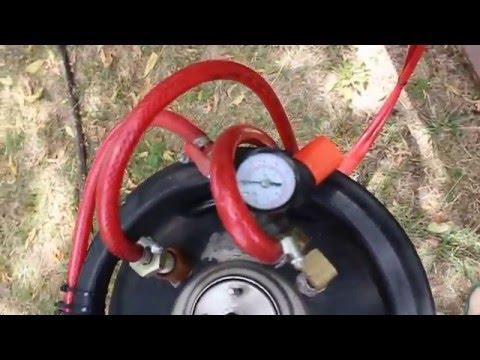 Maquina generador de espuma by champucars for Hormigon celular casero