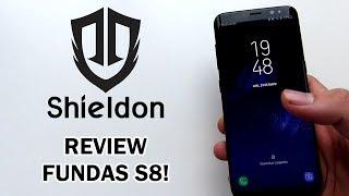 Fundas Muy PREMIUM Para Tu Galaxy S8! | Shieldon Case | Hi Tech