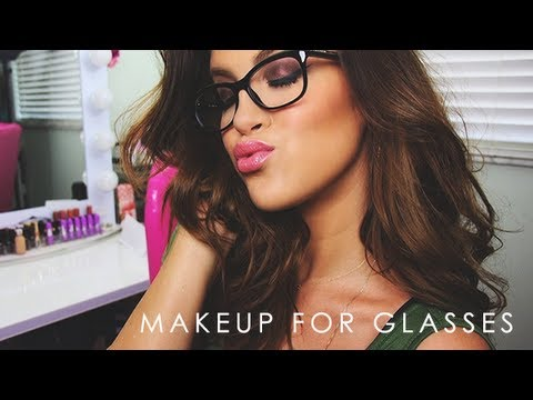 Makeup For Glasses :)