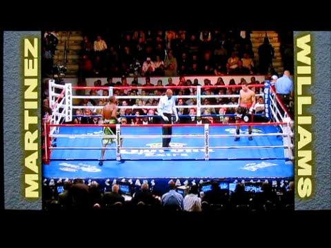 ボクシング歴史に残る衝撃の失神KOシーン マルティネスVSウィリアムス④