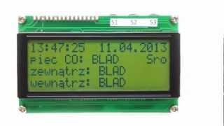 Arduino Leonardo mit LM75 und LCD