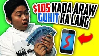 Paano kumita online $105 in ONE DAY! (Drawing lines!)