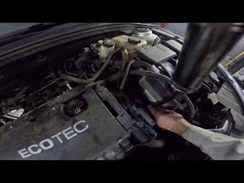 Замена масла в АКПП Chevrolet Cruze 1.8