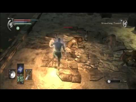 Demon's Souls Guia Completo #04 2 1 Stonefang Tunnel