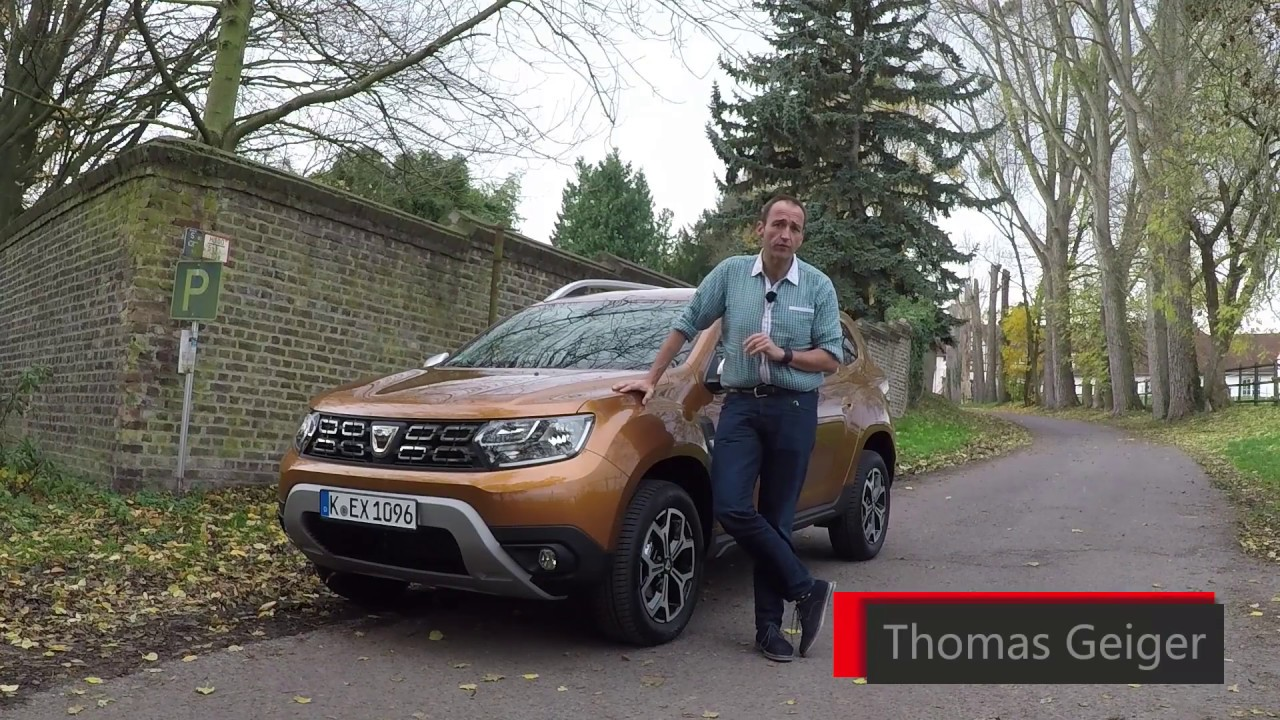 2018 dacia duster first drive test video review youtube. Black Bedroom Furniture Sets. Home Design Ideas