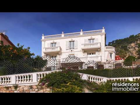 VILLEFRANCHE-SUR-MER - MAISON A VENDRE - 9 950 000 € - 450 m² - 7 pièces
