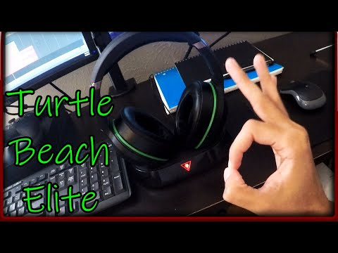 Turtle Beach Elite Pro Gaming Headset Review For Xbox One Turtle Beach Earforce 800X Elite Headset