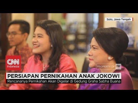 Persiapan Pernikahan Anak Jokowi, Kahiyang Ayu