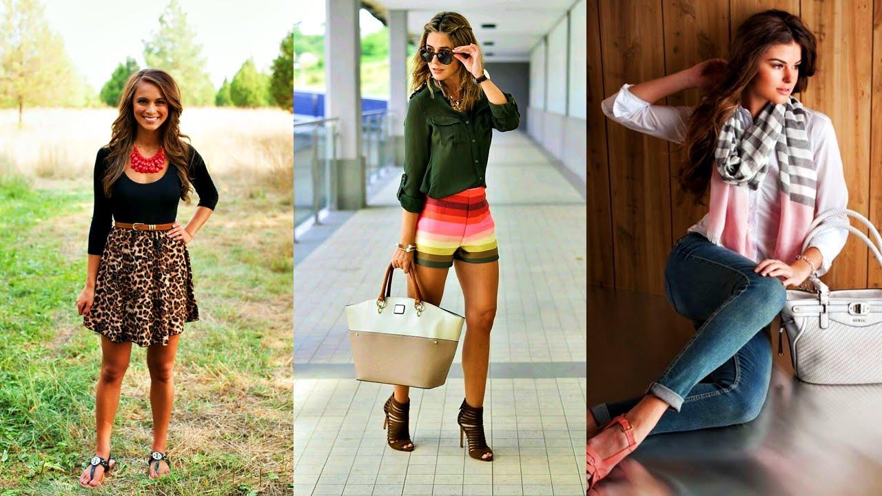 Tendencias modernas de la moda adolescente