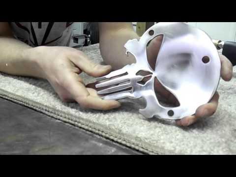 How to polish metal for chrome plating
