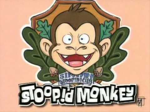 Stoop!d Monkey - Wall Mounting